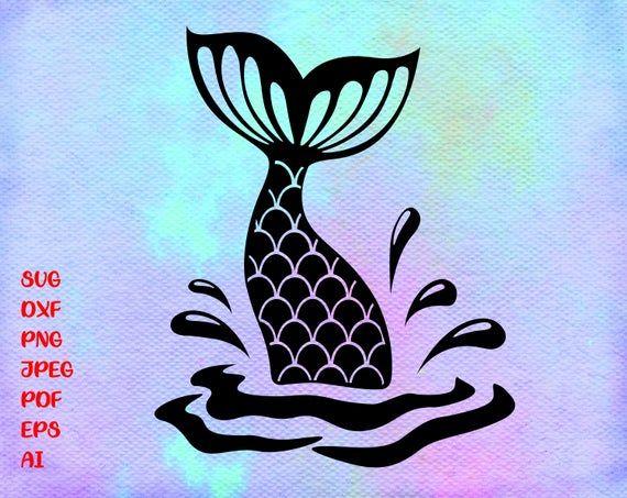 Mermaid Tail Svg Mermaid Svg Mermaid Scales Fish Tail Etsy Mermaid Svg Mermaid Outline Mermaid Tail