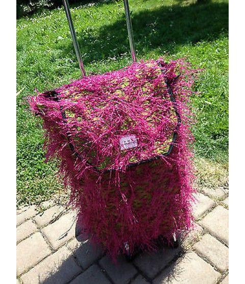 """Einkaufstrolley """"Pink"""" Einkaufwagen Rucksack Trolley, Swiss Mountain  - 2-flowerpower"""