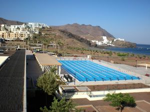 Playitas sports resort complex olympic pool Fuerteventura #Canarias