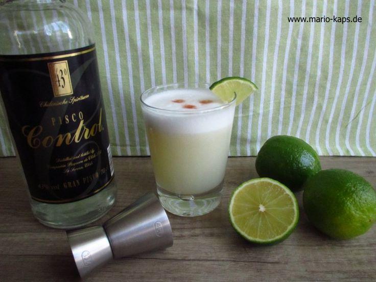 Pisco Sour – DER peruanische und chilenische Cocktail - Mario´s Fire Food & Fine Food Impressum: http://www.mario-kaps.de/impressum/