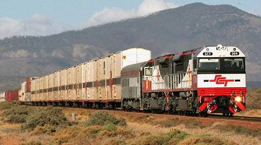 SCT Logistics freight train, Australia