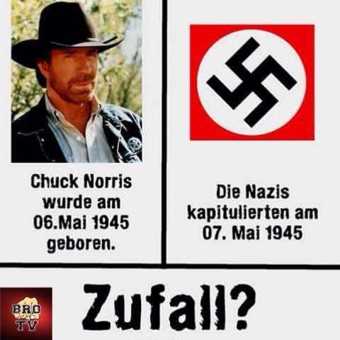 Was verbindet Chuck Norris und die Nazis?