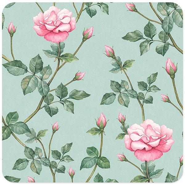 Watercolor rose flower on Behance