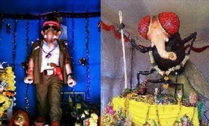 Tollywood movie helps in making Lord Ganesha idols