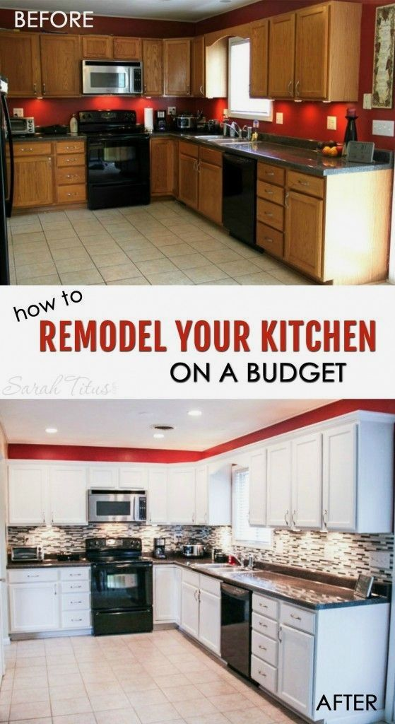 How To Remodel Your Kitchen On A Budget Kitchen Pinterest