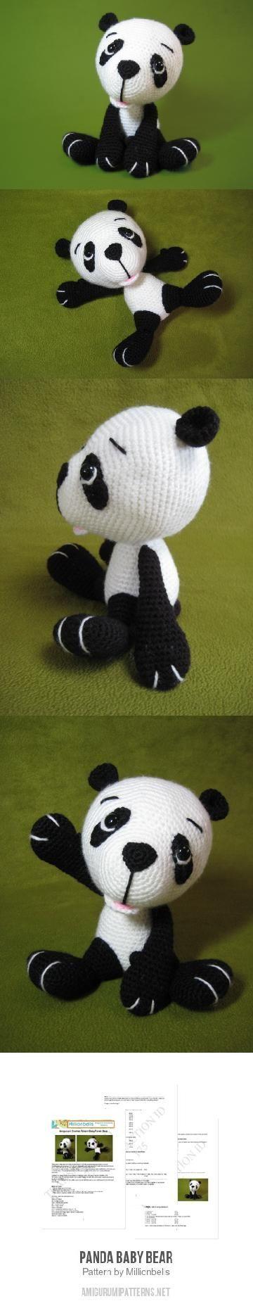 Panda Baby Bear Amigurumi Pattern