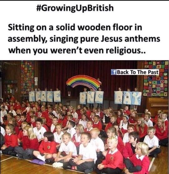 Like why do primary schools force Christianity upon everyone? Not okay