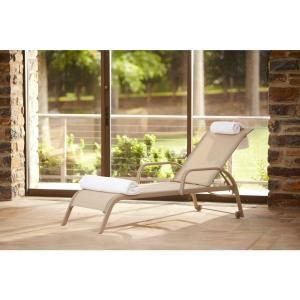 Hampton Bay Westin Commercial Sling Patio Chaise Lounge (2-Pack)-13H-007-CL2-SB at The Home Depot 499