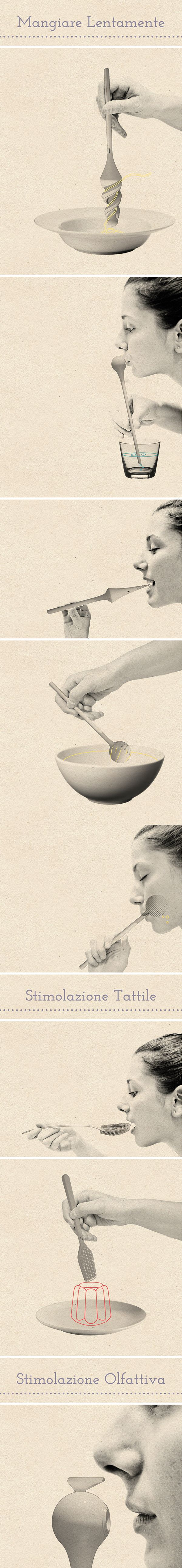 Tuls. For food experience. by Marianna Milione, via Behance