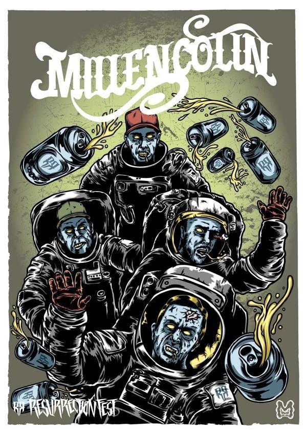 Resurrection Fest 2013 - Millencolin by Marcos Cabrera