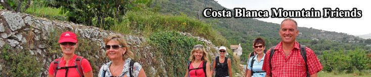 Walking and Hiking Routes on The Spanish Costa Blanca