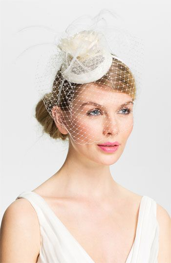 Lauren Ralph Lauren Linen Rosebud Fascinator Headband available at #Nordstrom – …