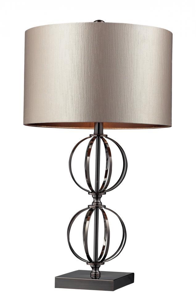 Design Lighting in Surrey, British Columbia, Canada, Dimond D2224, One Light Table Lamp, Danforth, COFFEE PLATING