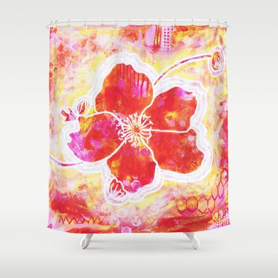 Blomma Shower Curtain by Stina Glaas - $68.00