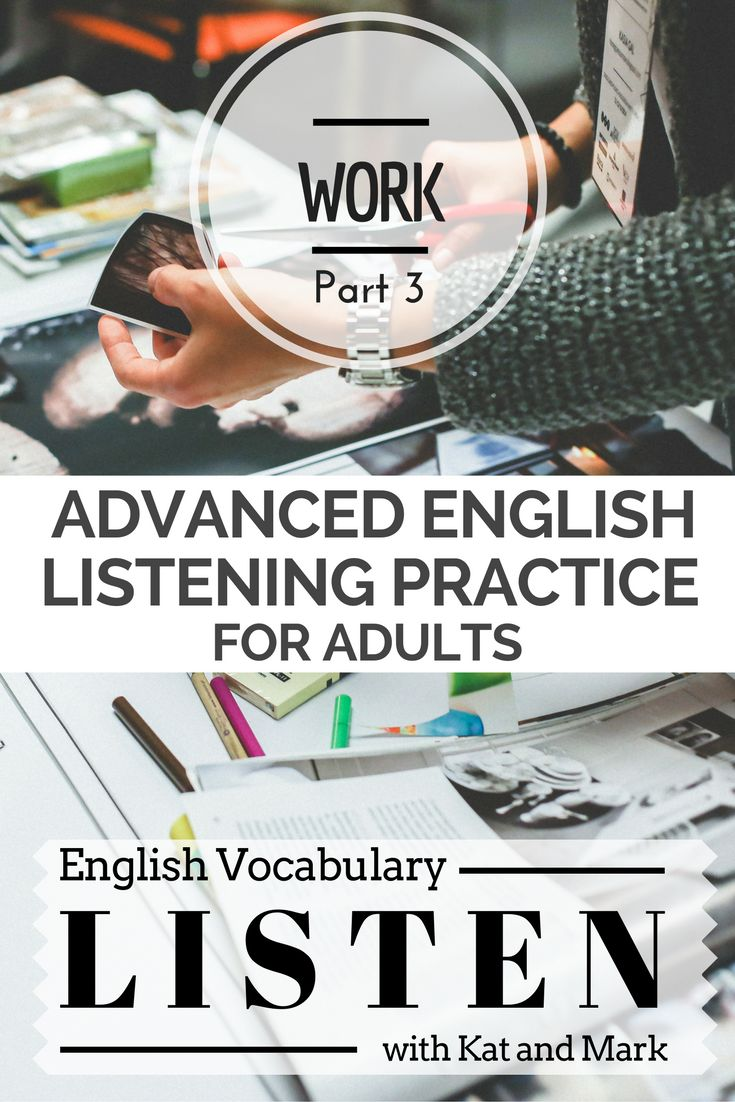 English Audio Clips for Adults. Listen to naturally spoken English ...
