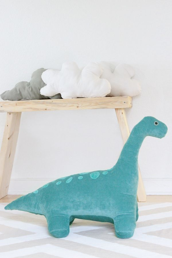 Dino toy sewing pattern - Rawrr! | Kids Craft | Pinterest | Cosas de ...