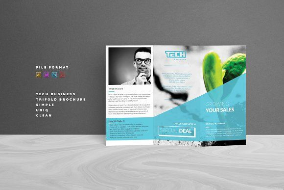 Trifold Brochure by AlfianBrand™ on @creativemarket