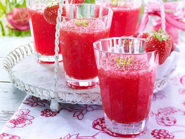 Erdbeer-Cocktail