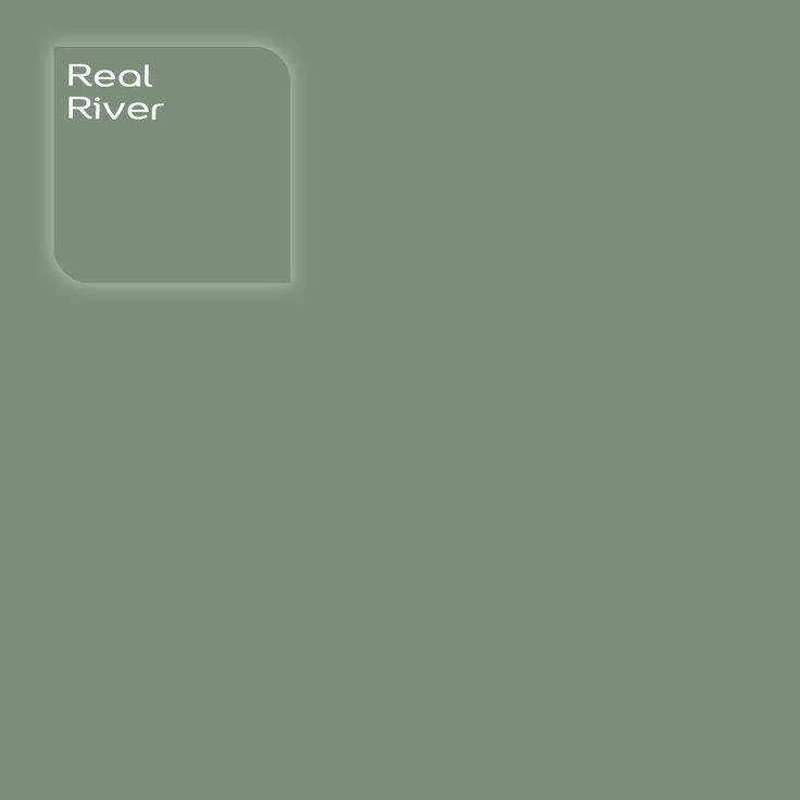 Pure by Flexa Colour Lab® kleur: Real River. Verkrijgbaar in verfspeciaalzaken.