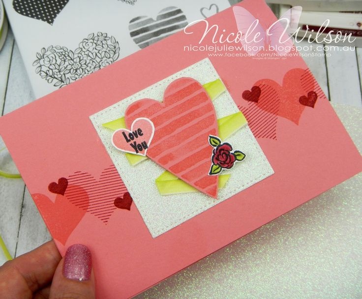 Nicole Wilson Independent Stampin' Up!® Demonstrator Just Add Ink 394 Just add romance, heart happiness valentines day #stampinup #JAI394 #love #valentines #heart #romance