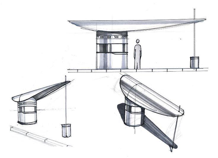 Suunnittele bussipysäkki, pienoismalli (kierrätysmateriaalit, pahvit, puutikut, ym) Making of the SimCityTrans bus stop