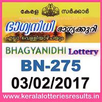 http://www.keralalotteriesresults.in/2017/02/03-bn-275-live-bhagyanidhi-lottery-result-today-kerala-lottery-results.html