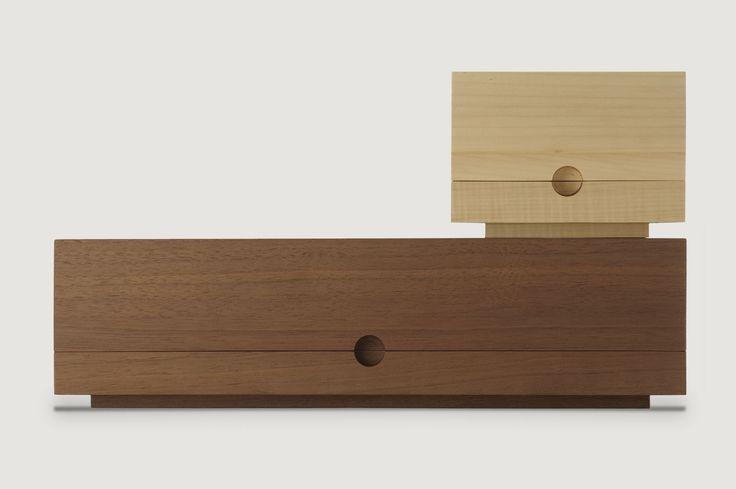 Caja joyero de madera :: Jewellery wood case :: SOLEMNE Tronks and Co