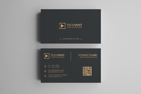 Gold Minimal Business Card by shahjhan on @creativework247