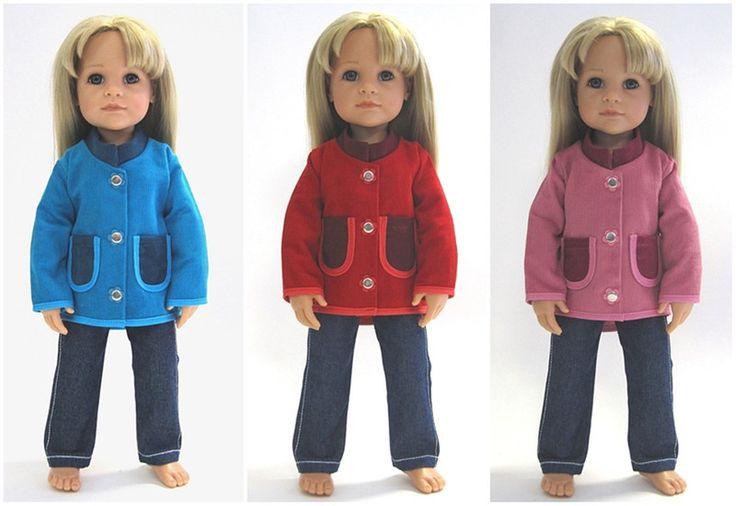"""Feincord-Jacke """"Hannah"""" - in 3 Farben zur Wahl von © MABE la Creativ - KIDS auf DaWanda.com"""