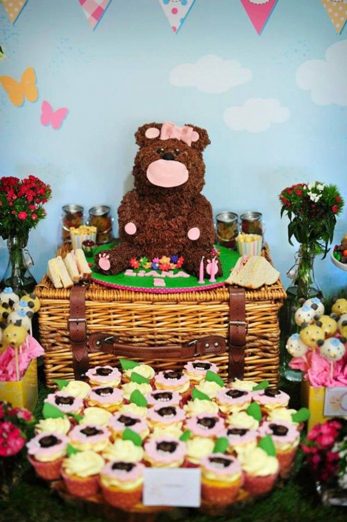 17 Best Images About Teddy Bear Birthday Party On