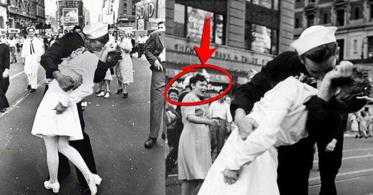 There are few photos taken in the 20th century as famous as that of the photograph of the sailor kissing a nurse in Times Square on V-J Day in August 1945. You only have to Google 'sailor kissing nurse,' and your screen will be littered with this renowned image – even with your safe searc...