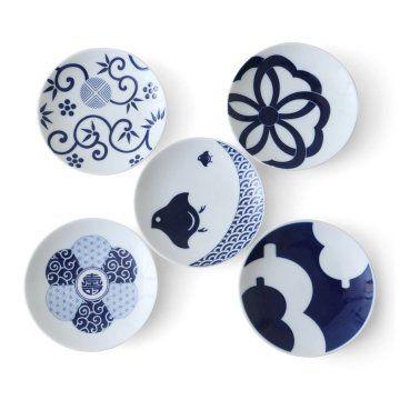 KIHARA/Mamezara 5種セット(吉祥紋様)