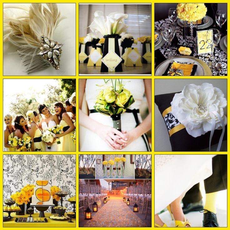 8 best yellow black wedding theme images on pinterest yellow black yellow wedding reference wedding decoration best free home design idea inspiration junglespirit Images