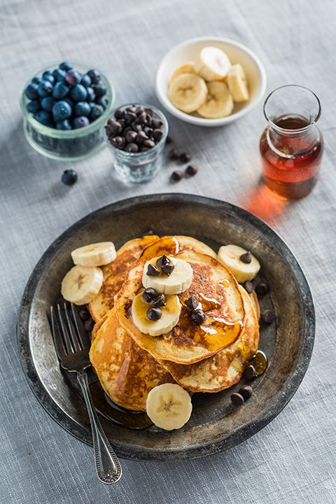 INGREDIENTS BY SAPUTO | Weekends mean brunch, and brunch means celebration! Need recipe ideas? How about a big stack of pancakes made with bananas, maple and Saputo Ricotta cheese? Sounds pretty sweet to us!
