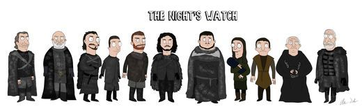 Game Of Thrones Characters Drawn In The Style Of Bob's Burgers - AskMen