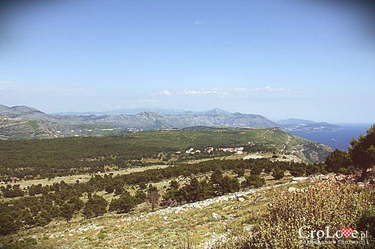 Widok na zachodnią Chorwację oraz Bośnię i Hercegowinę ze wzgórza Srđ w Dubrowniku || http://crolove.pl/wzgorze-srd-w-dzien-i-w-nocy/ || #Srd# #Dubrownik #Dubrovnik #Chorwacja #Croatia #Hrvatska #Travel #Trip #summer