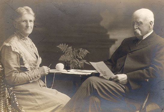 Our founder, Wellesley Bailey, and his wife, Alice Bailey...