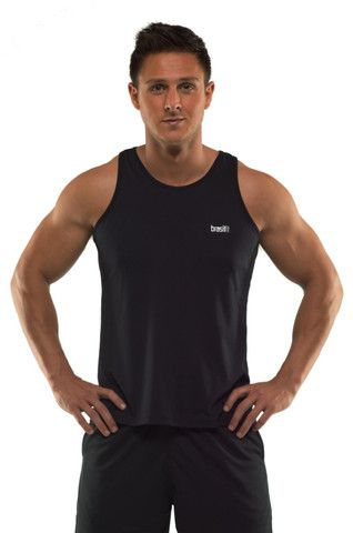 Singlet Apollo - Our great Mens Singlet with no sleeves is perfect for running, cycling or gym. The fabric has superior wicking and is super quick drying. A perfect shirt for all vigorous exercise and aerobic sports.