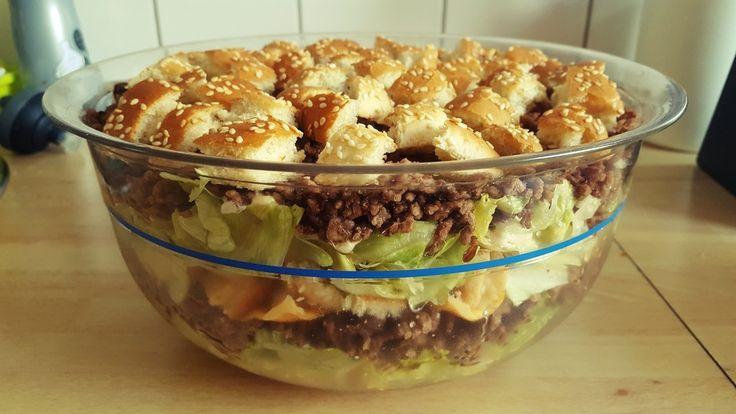 Big Mac Salat, ein beliebtes Rezept aus der Kategorie Party. Bewertungen: 616. Durchschnitt: Ø 4,6.