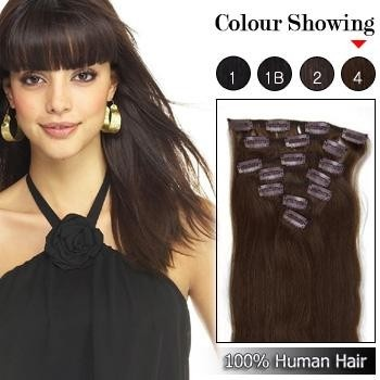 127 best clip in remy human hair extensions images on pinterest medium reddish brown human hair clip on hair extensions pmusecretfo Choice Image