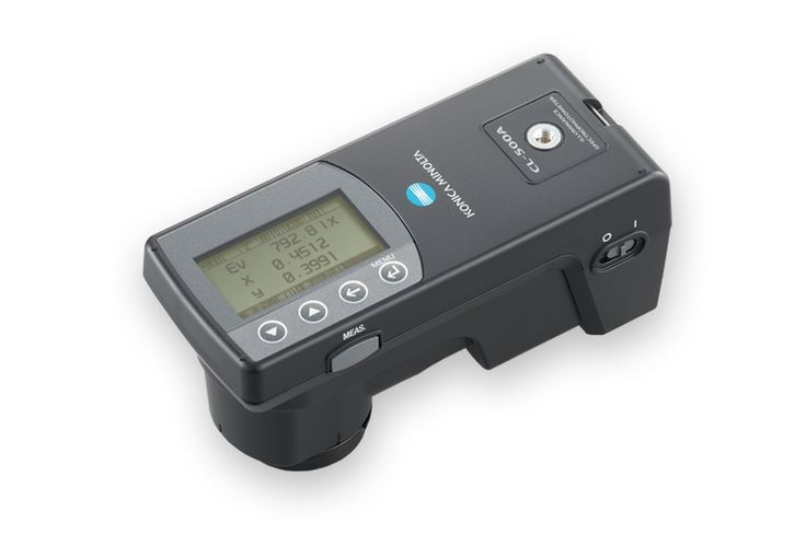 Espectrofotómetro de Iluminancia CL-500A - instrumentos de medición de Konica Minolta