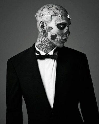 Zombie Boy: la storia del tatuatissimo Rick Genest