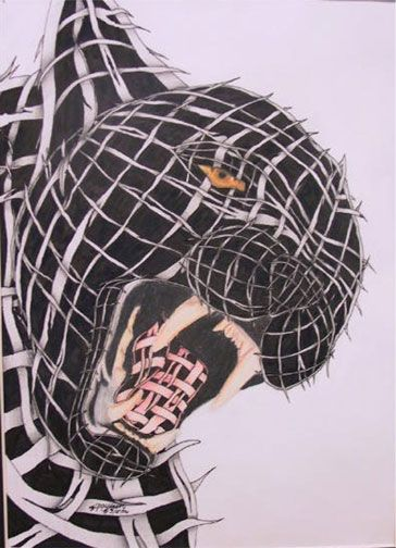 Contour Line Drawings Of Animals : Submitted by kimberly sheek montezuma cortez high school