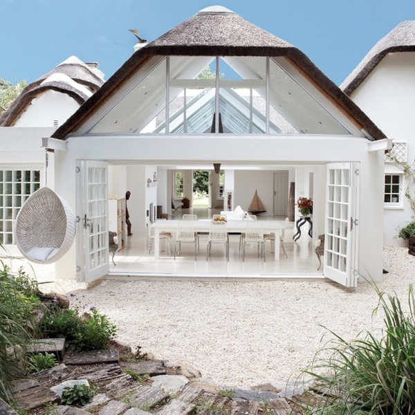 A house in on the beach