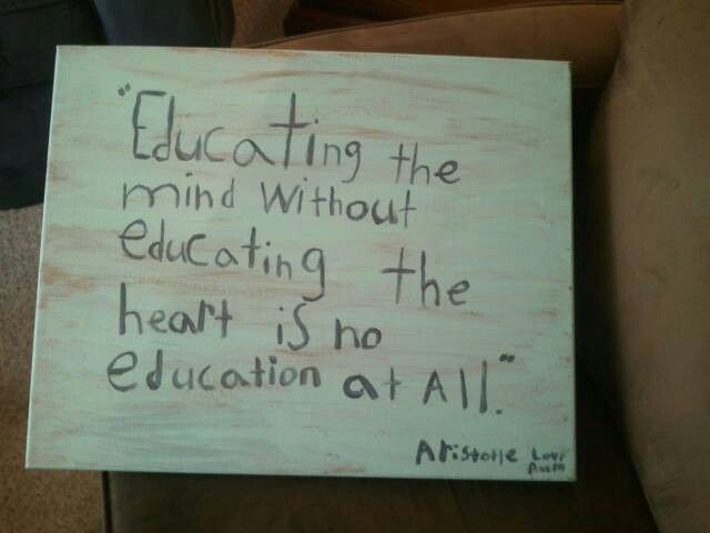 Educational quotes written by child for end of year teacher gifts!!