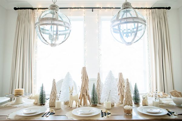 Little Gem: Holiday Breakfast With Doctor's Closet & Lulu And Drew | theglitterguide.com hotel pendant restoration hardware