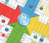 Le jeu du Parcheesi se compose de 2 à 4 joueurs avec également l'option de jouer en paire. Le but est que tous les pions en sa possession atteignent la case d'arrivée avant ceux de l'adversaire. Version également disponible avec 2 dés: Le SuperParcheesi.