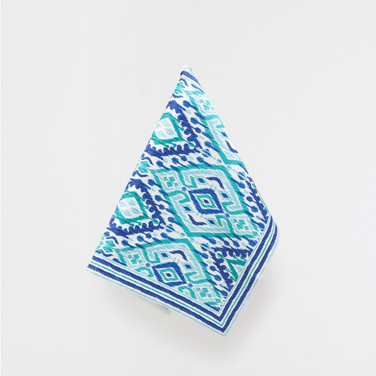 MULTICOLOURED TEA TOWEL - Jaipur Collection - Tableware | Zara Home Spain
