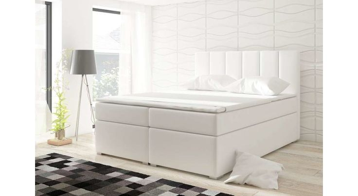 die besten 25 boxspringbett wei 180x200 ideen auf. Black Bedroom Furniture Sets. Home Design Ideas