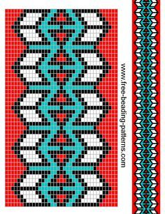 native american beading patterns | Plenty of adorable faces to adorn your tree and holiday home…